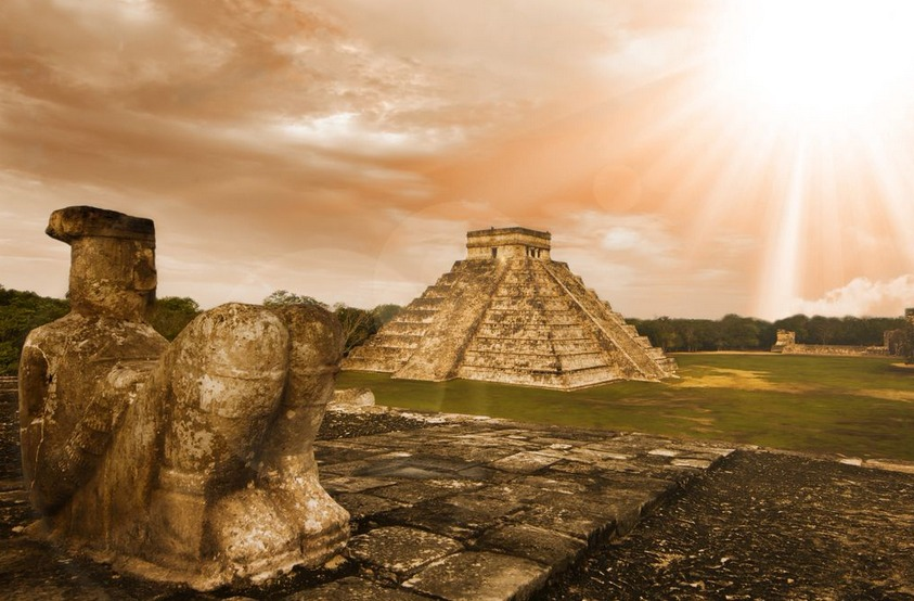 Archeological Site of Chichén Itzá, Yucatán