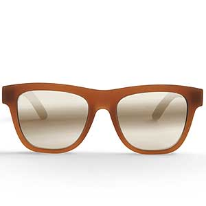 TOMS Dalston matte umber sunglasses