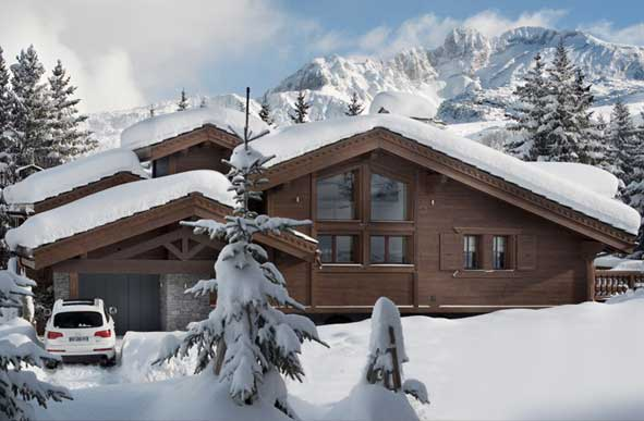 Le Coquelicot Chalet in the French Alps
