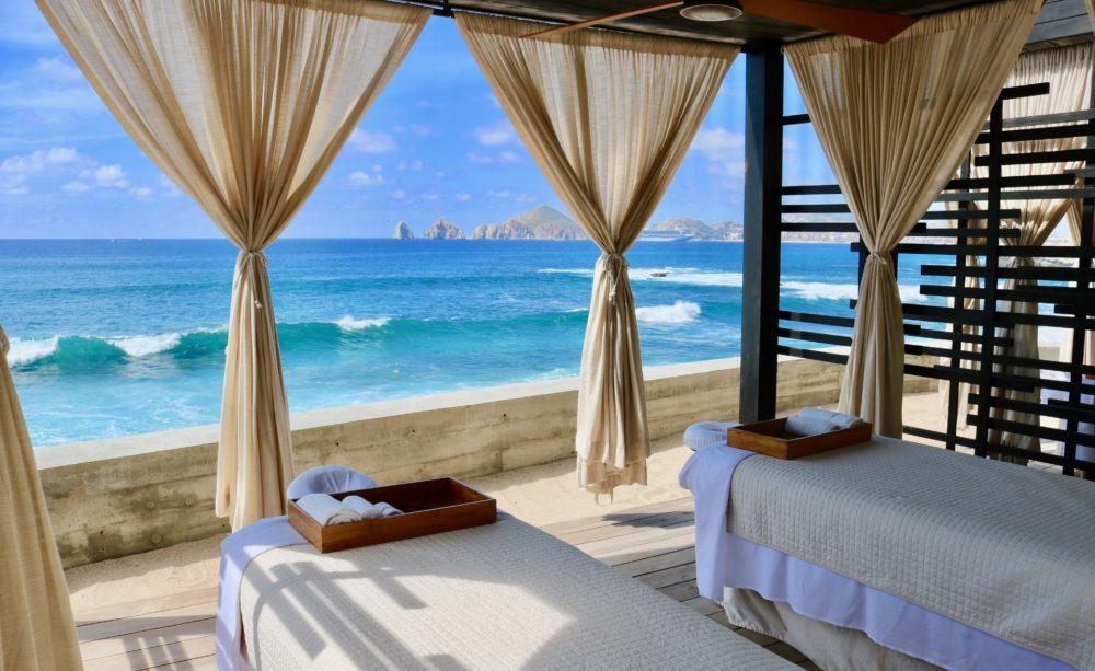 Outdoor Cabanas at The Cape Los Cabos