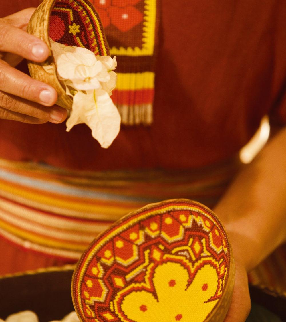 Huichol ritual Velas Resorts