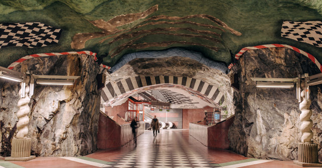 Stockholm's Tunnelbana