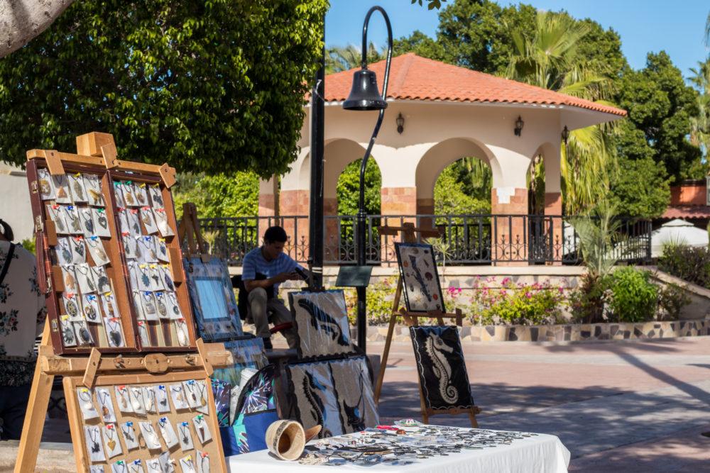Loreto Mexico street stalls