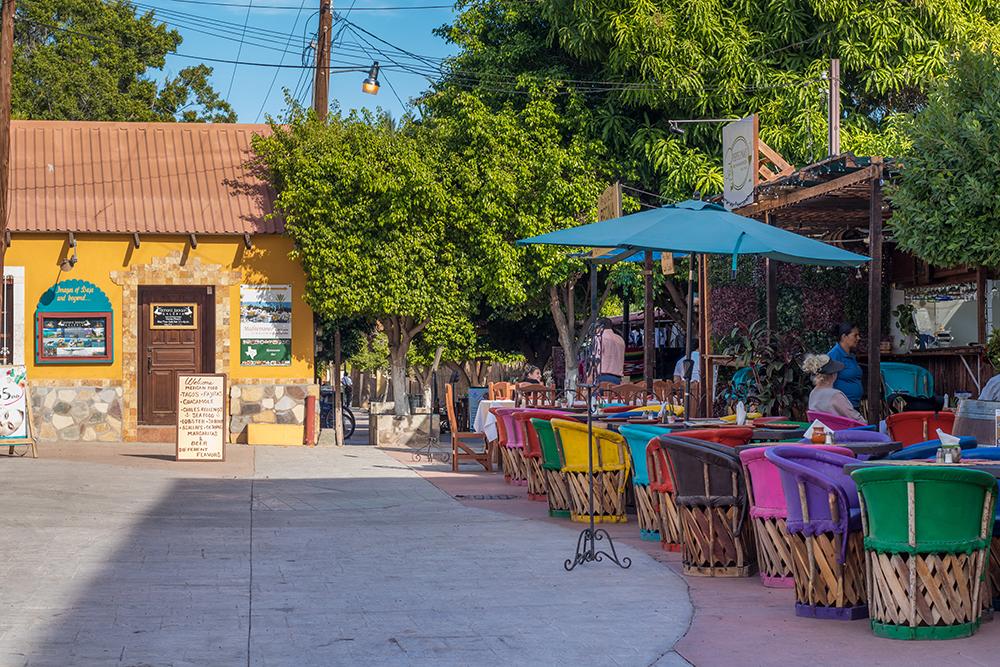 Loreto Mexico cafes