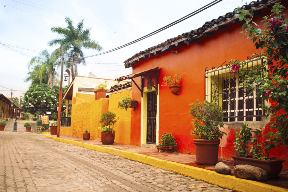 Mazatlán El Quelite streets