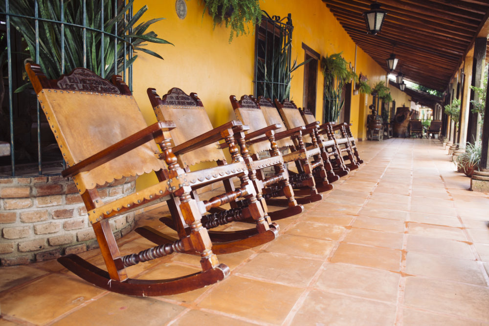 Mazatlán El Quelite rocking chairs