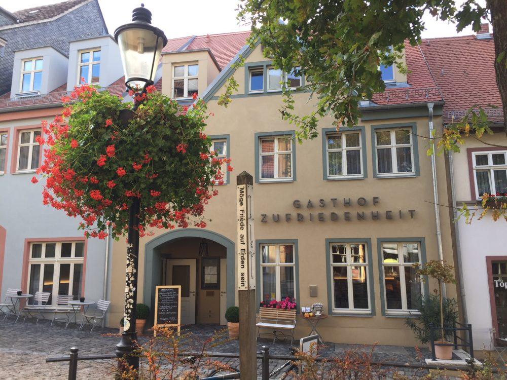 Germany Saxony Gasthof Zufriedenheit