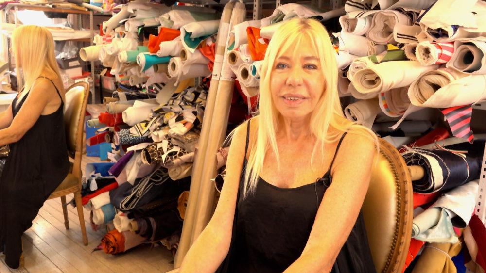 Buenos Aires shoe designer Alicia Muniz in her studio Comme Il Faut