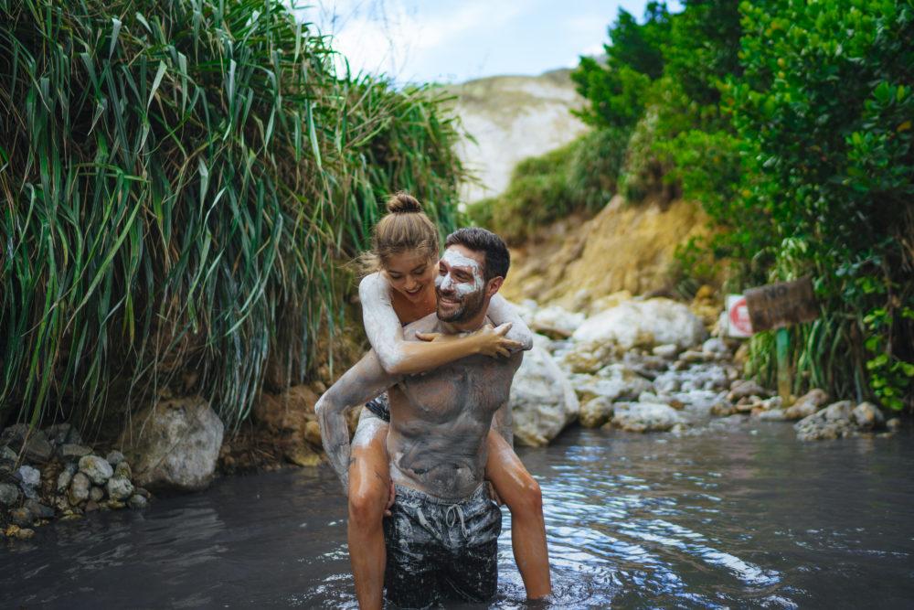 Saint Lucia Soufriere Sulphur Springs