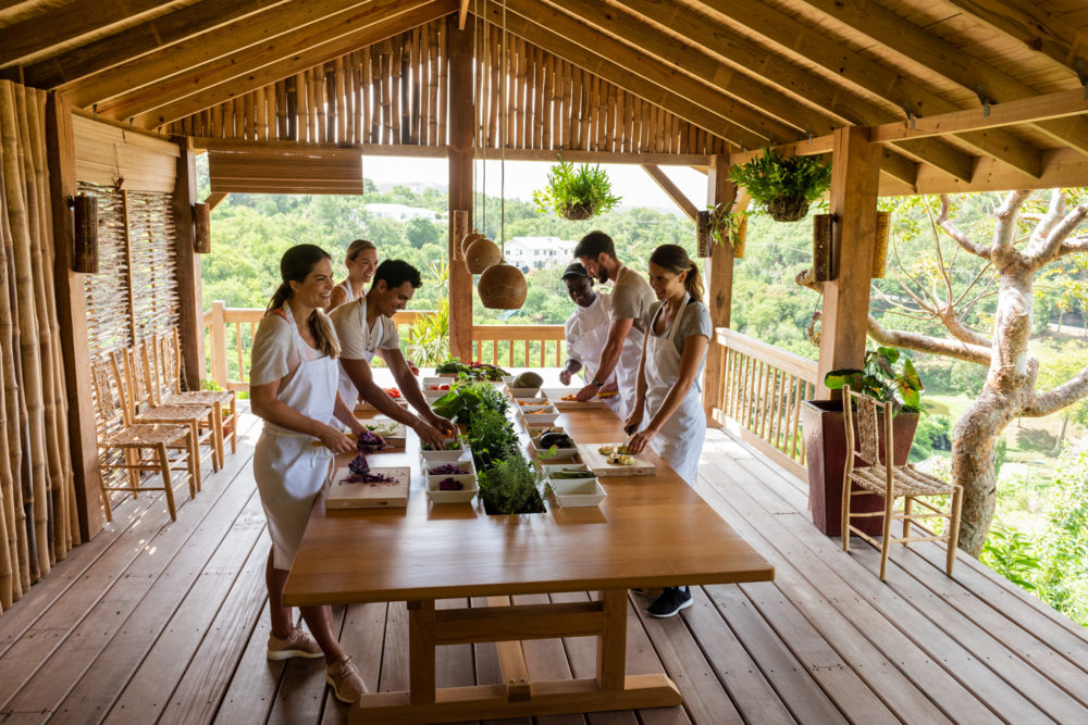 Saint Lucia The Body Holiday I-Tal Cooking Class