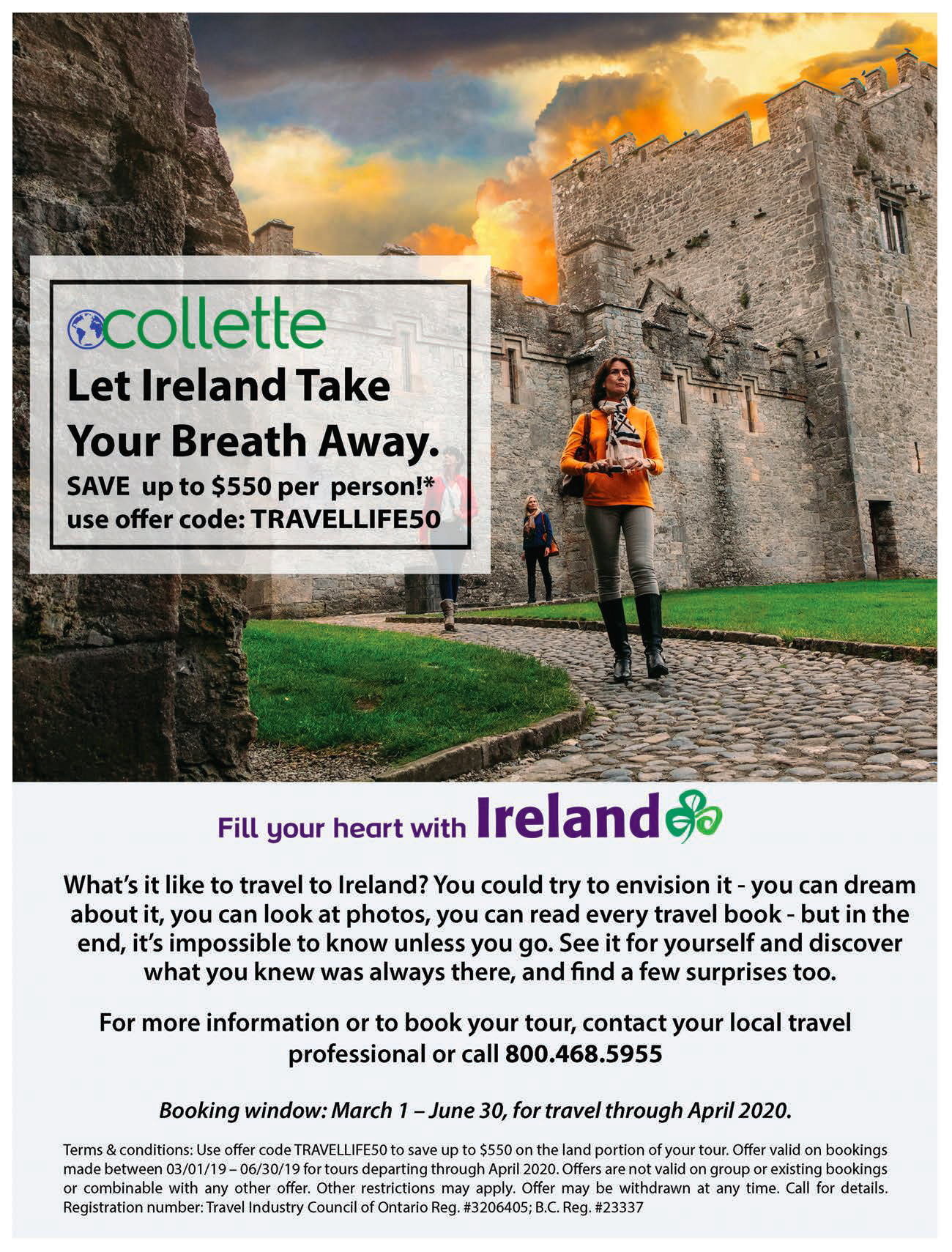 Collete Ireland offer