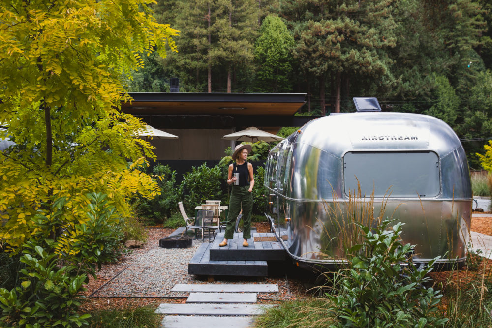 Russian River Autocamp airstream camping