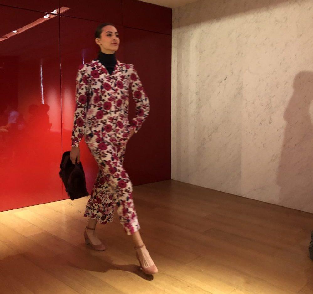 Paris Galerie Lafayette fashion show
