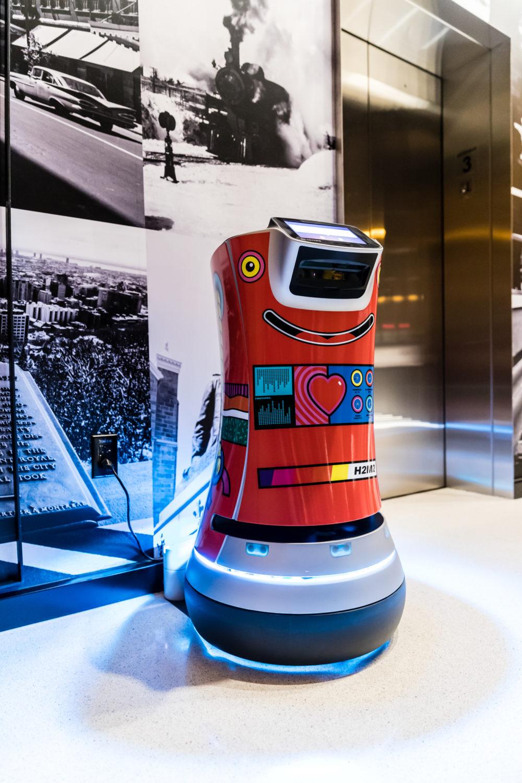 Robot H2M2 © Hôtel Monville