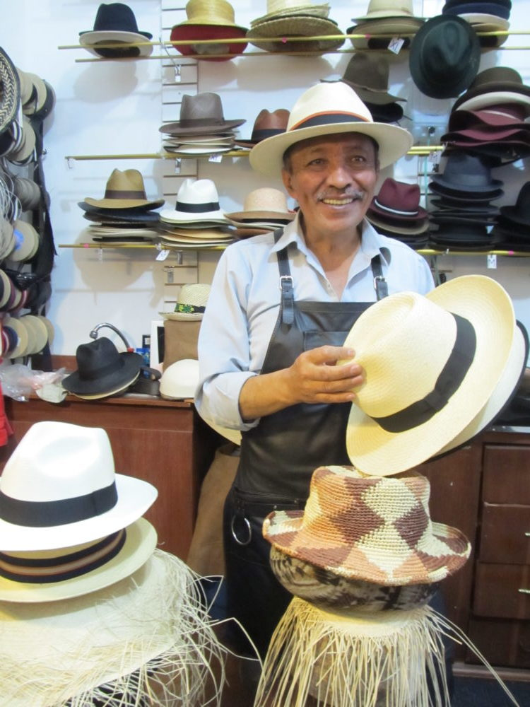 Ecuadorian Panama hats