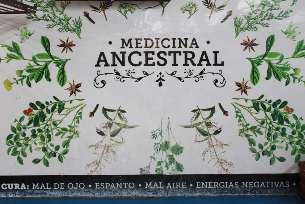 Traditional medicine Quito