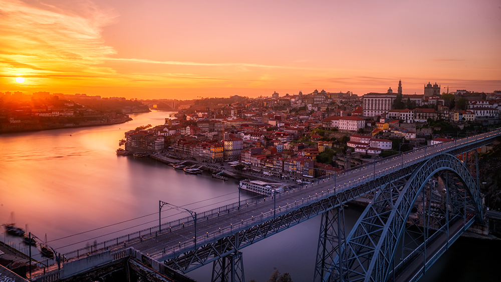 Portugal sunset