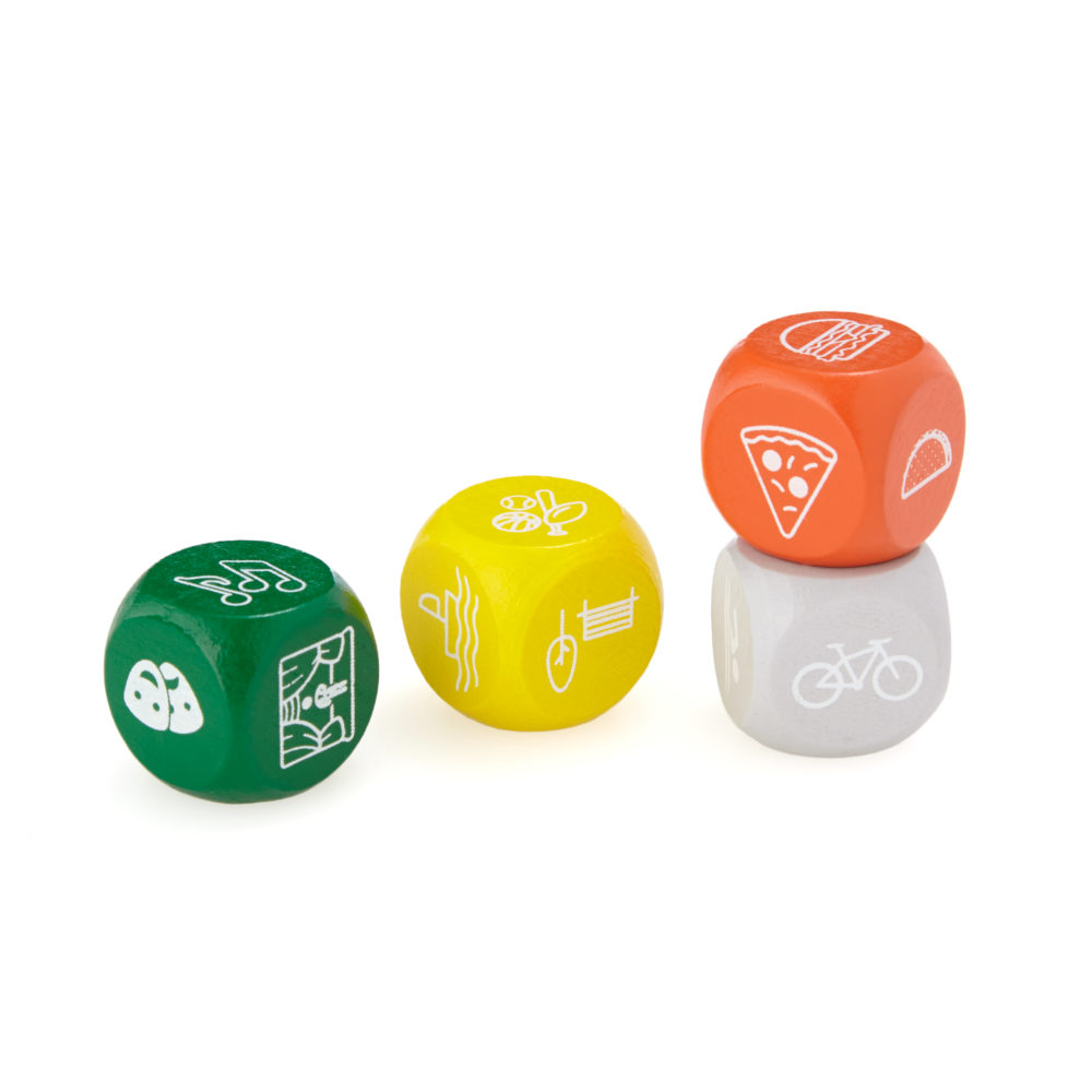 travel essentials do-something dice