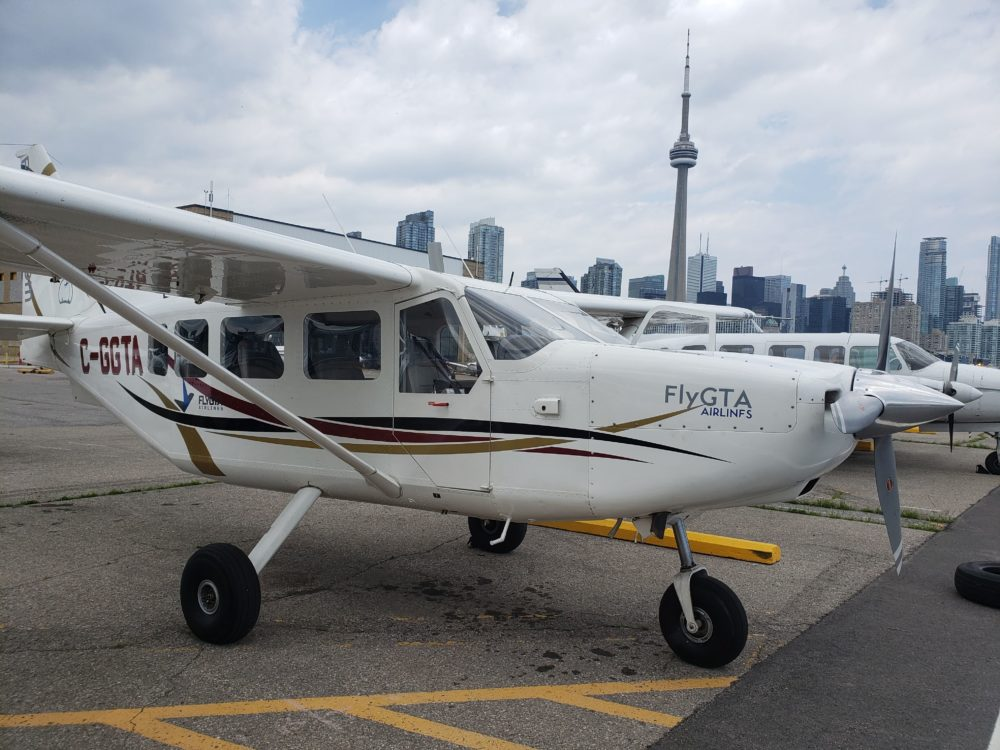 Take a scenic flight over Toronto with FlyGTA