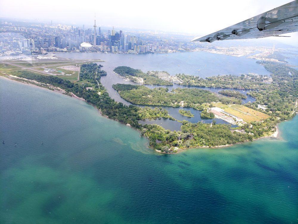 Stylish Staycations Toronto scenic flight