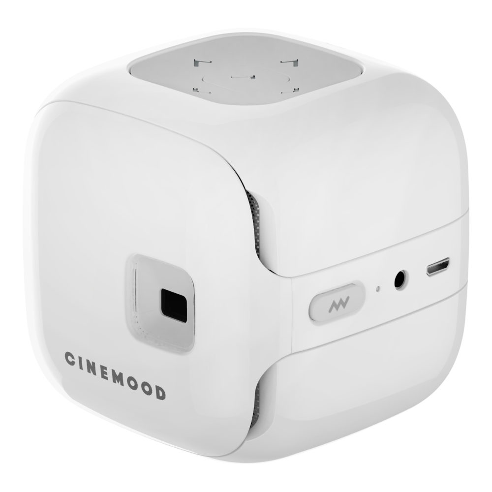 travel essentials Cinemood pocket projector