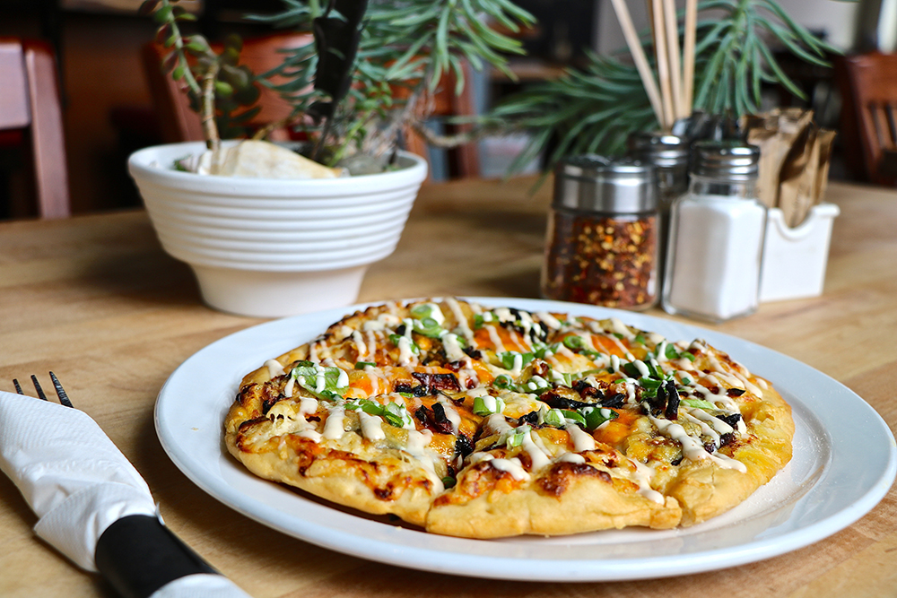Butternut Squash Bannock Pizza from Feast