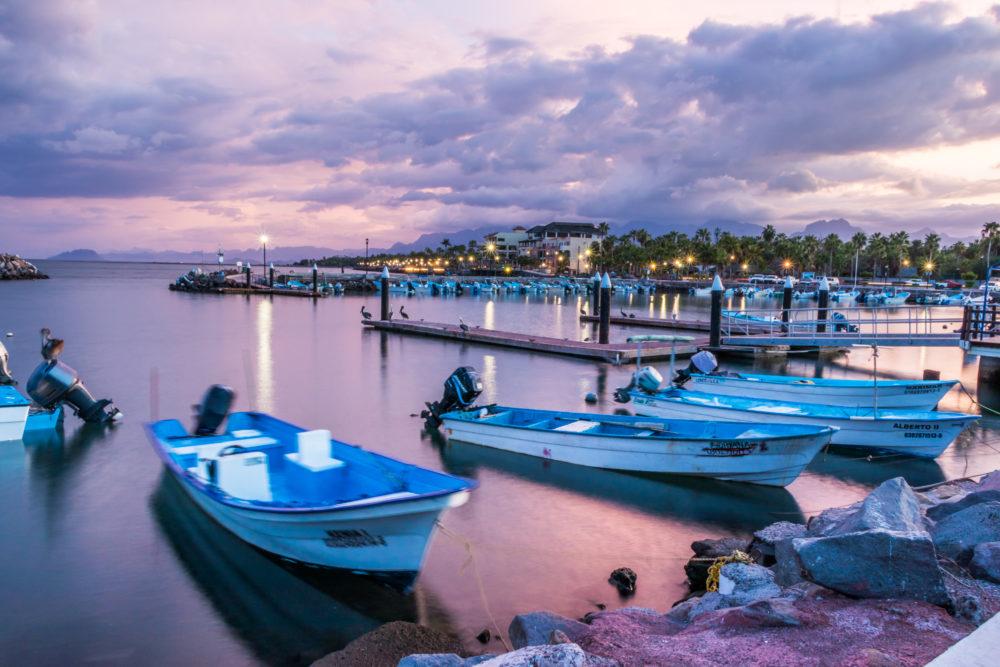 Baja California Sur Mexico harbour