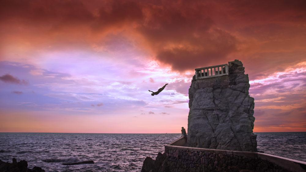 Mazatlan cliff divers