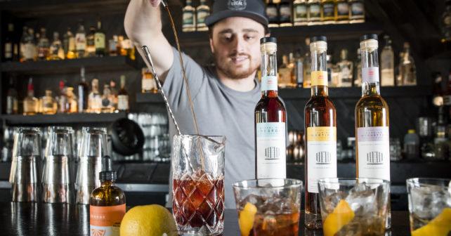 Park Distillery Barrel Aged Cocktails Master Distiller