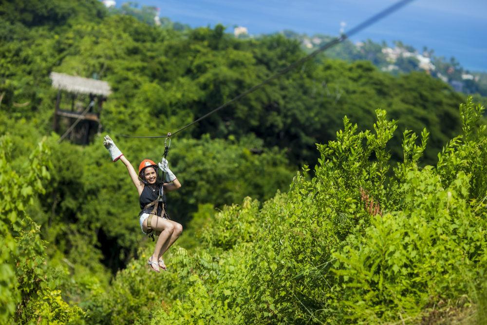 Ziplining in Riviera Nayarit