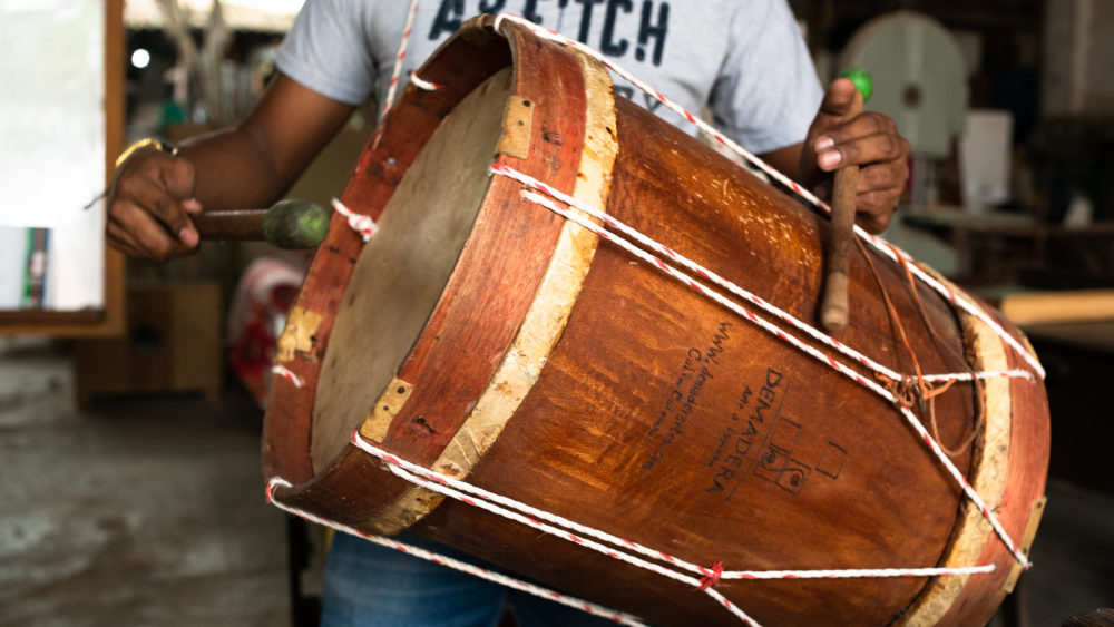 Colombia drum