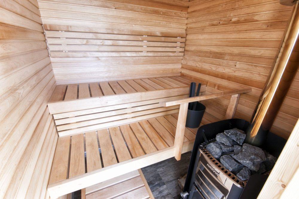 Houseboat sauna