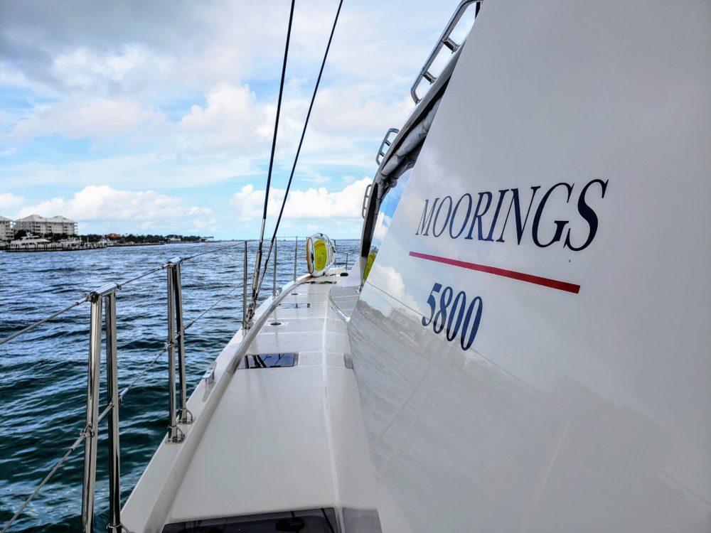 The Moorings Caribbean sailing yacht