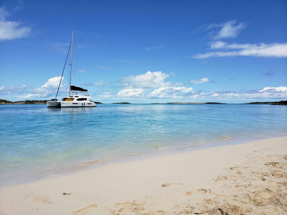 Caribbean sailing Exumas Bahamas