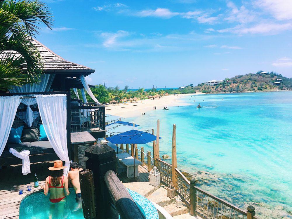 Antigua Blue Waters