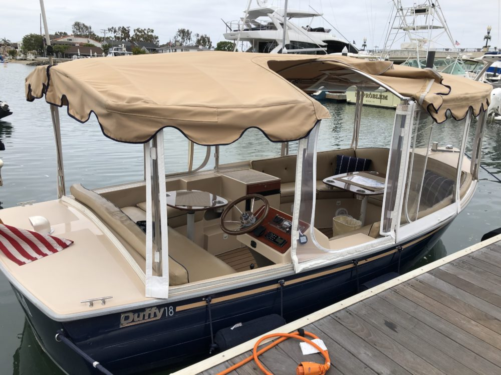 Dock and dine Newport Beach