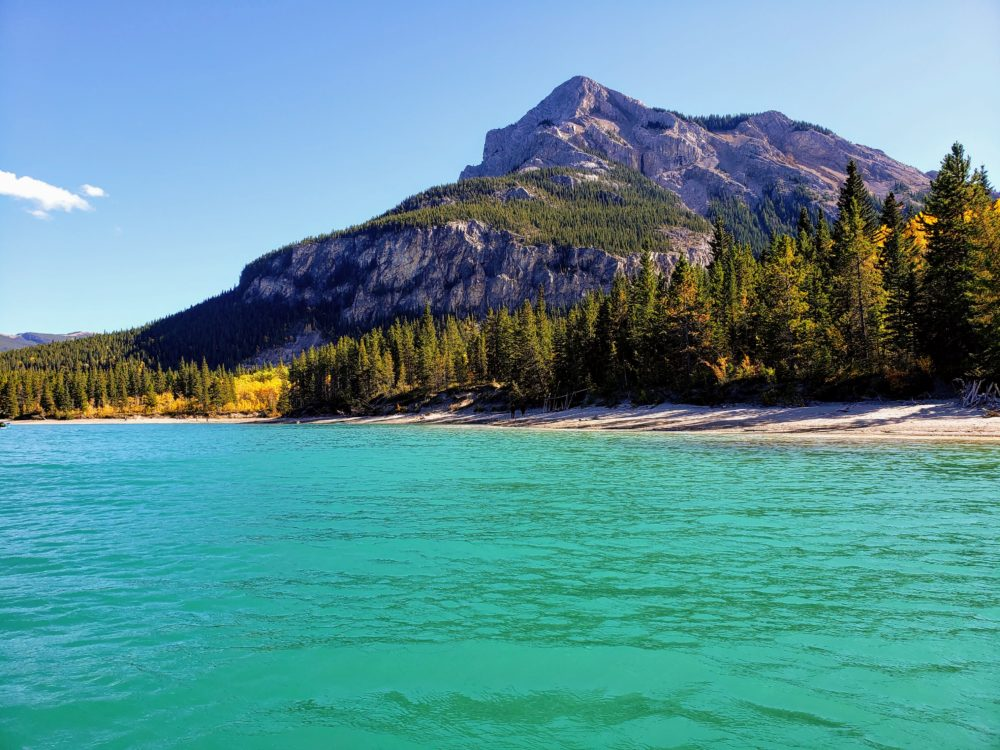 Kayaking on Barrier Lake