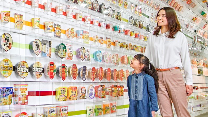 Cup Noodle Museum display