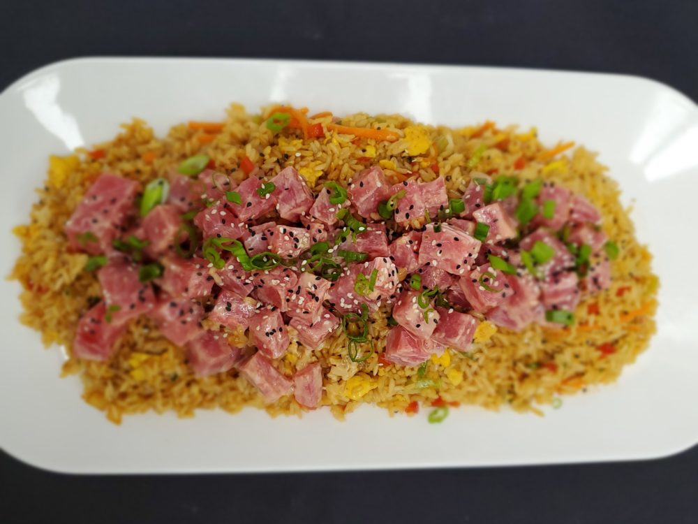 North Carolina sticky fried rice