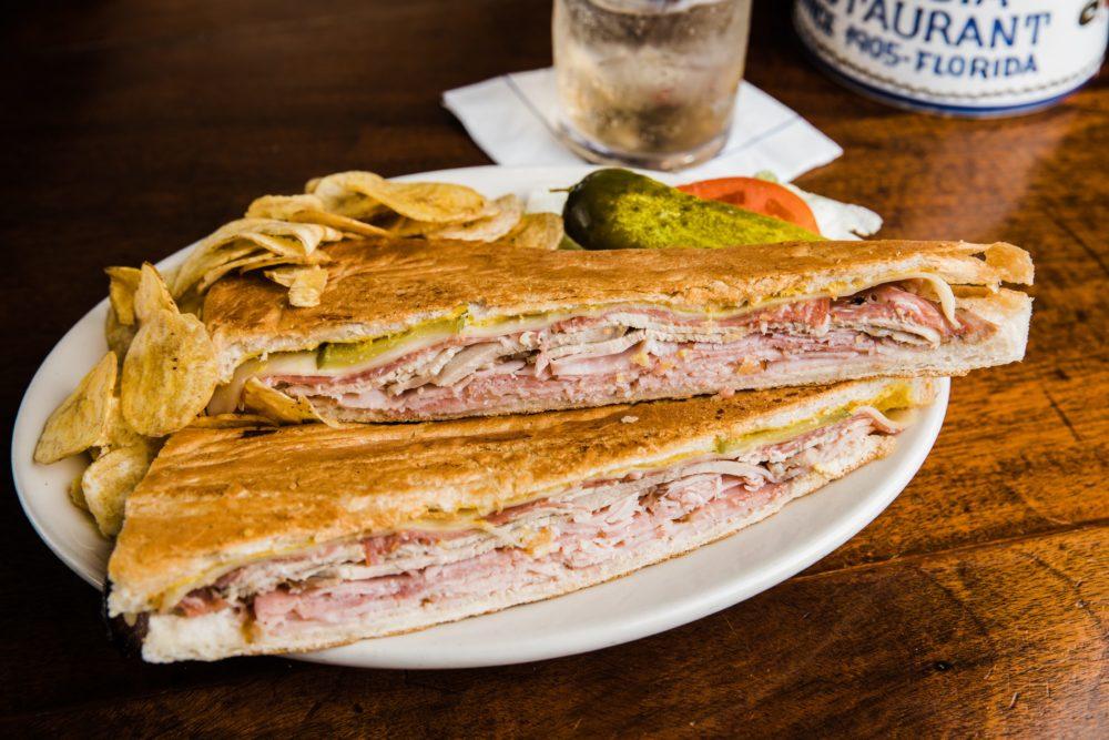Tampa Columbia Restaurant Cuban Sandwich