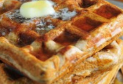 Tuolumne County California Apple Cider Waffles