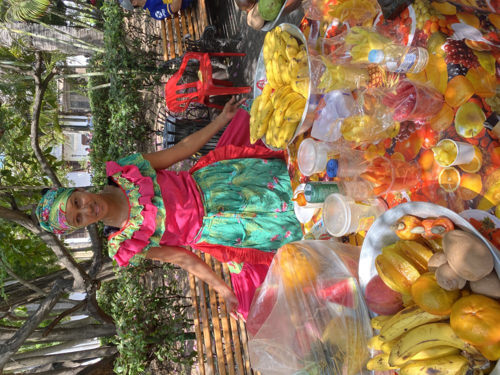 Colombia fruit seller
