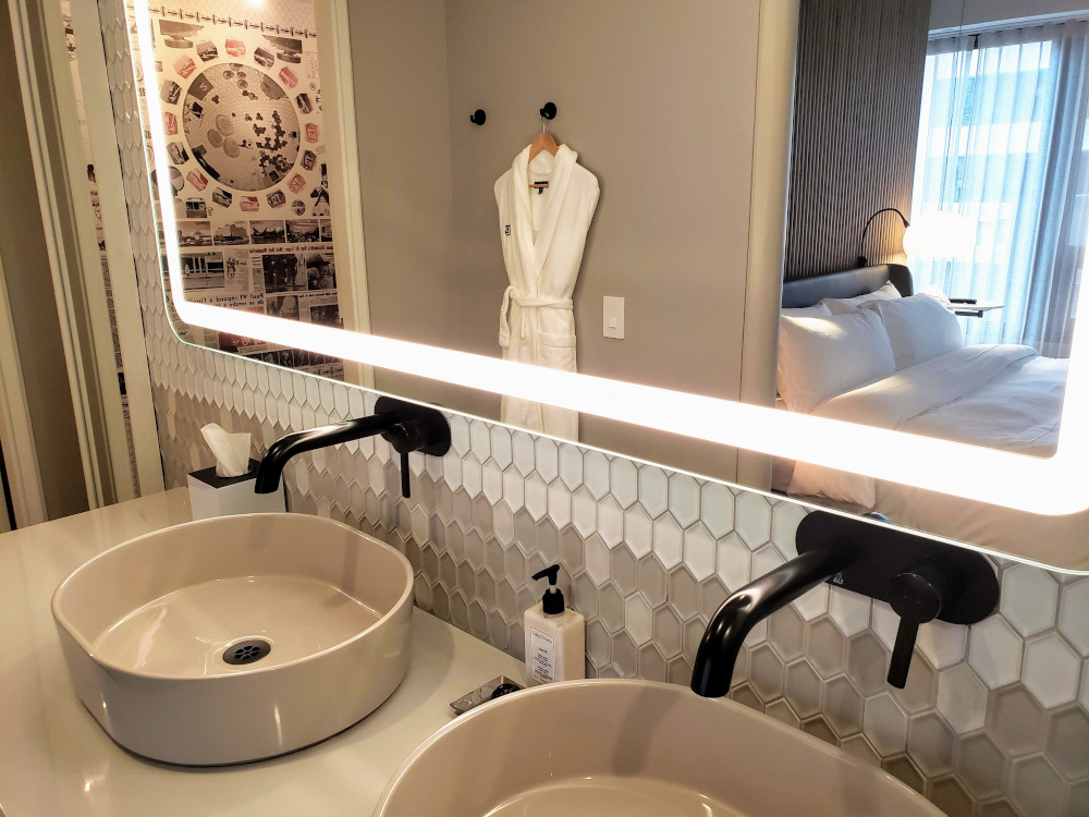 Le Germain Hotel bathroom