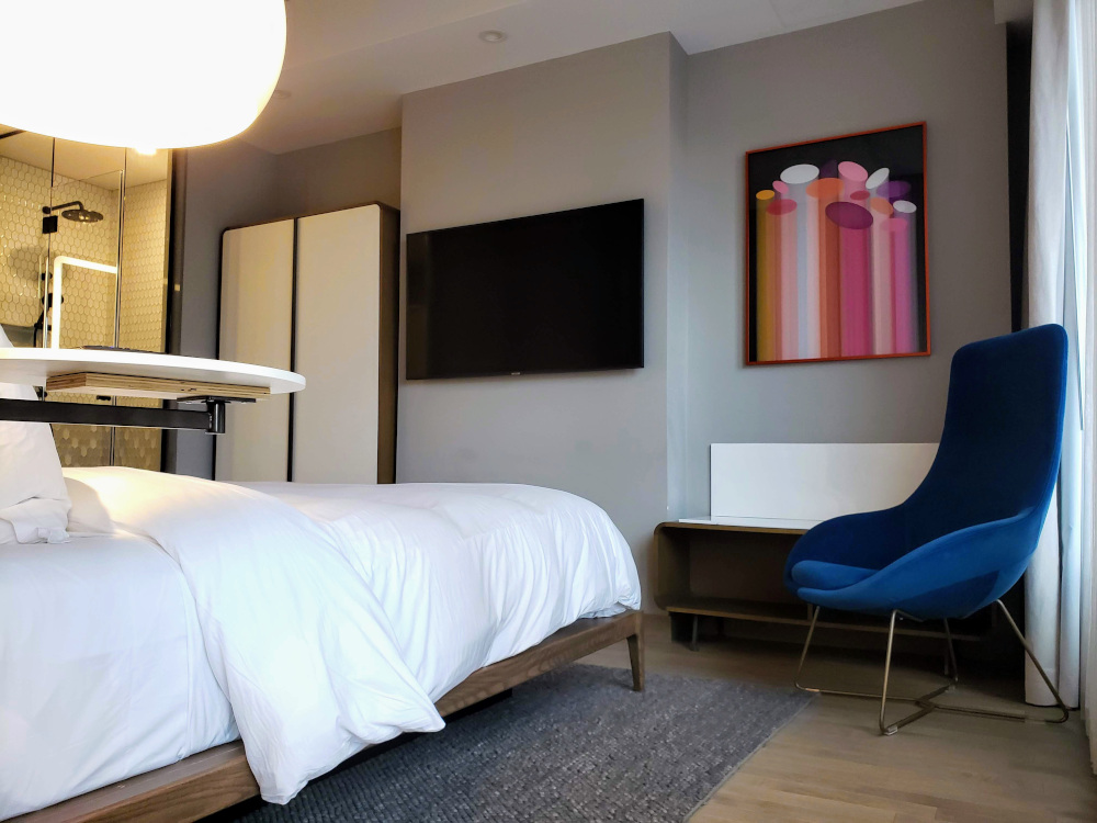 Le Germain Hotel room