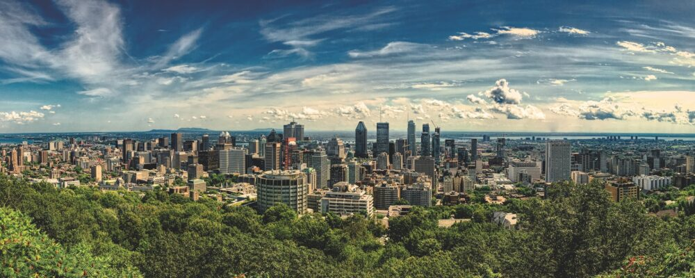 Montreal staycation panorama