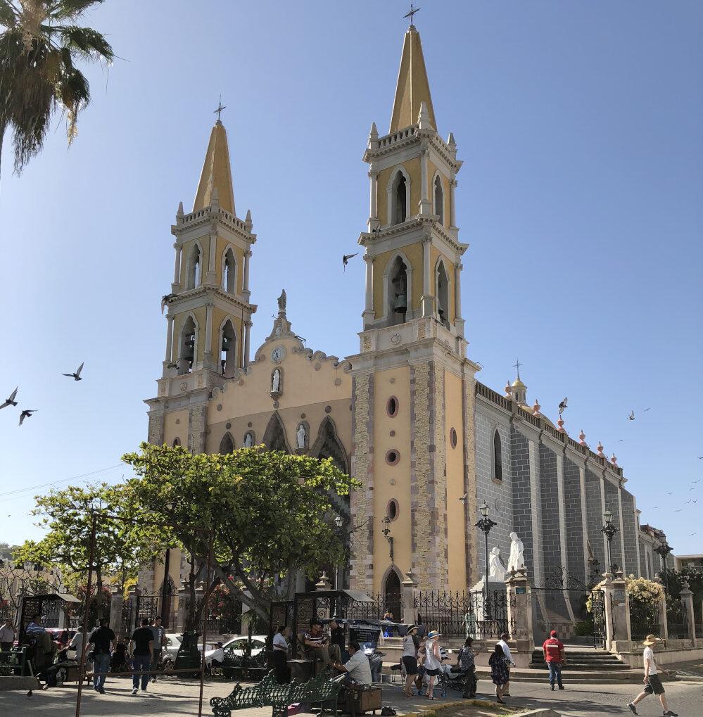 Mazatlán church
