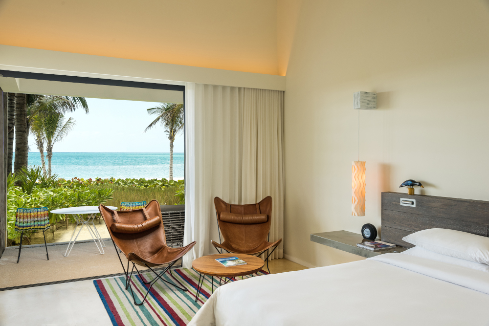 Andaz Mayakoba beach front king suite