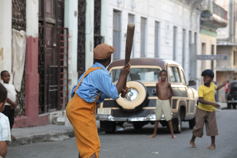 Old Havana scene in The Cuban