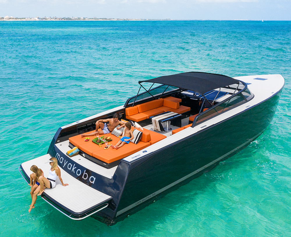 Andaz Mayakoba boat