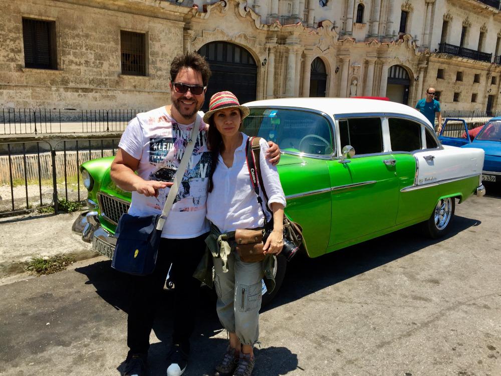 Director Sergio Navarretta and Cinematographer Celiana Cardenas